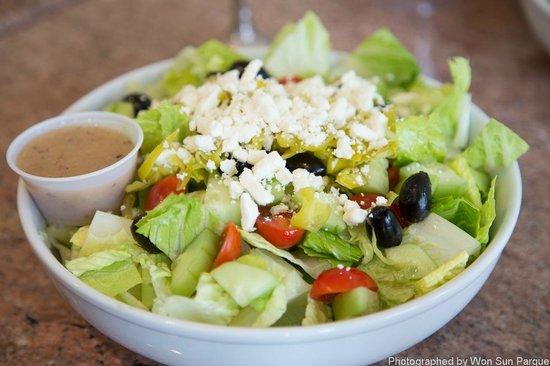 Green Salad - Picture of John\'s Cafe, Palo Alto - TripAdvisor