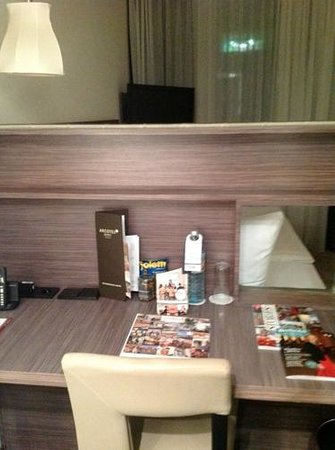 Arcotel John F:                   The desk/Bed head board.