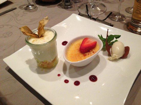 Hotel Saliter Hof:                   Variationen von Vanille