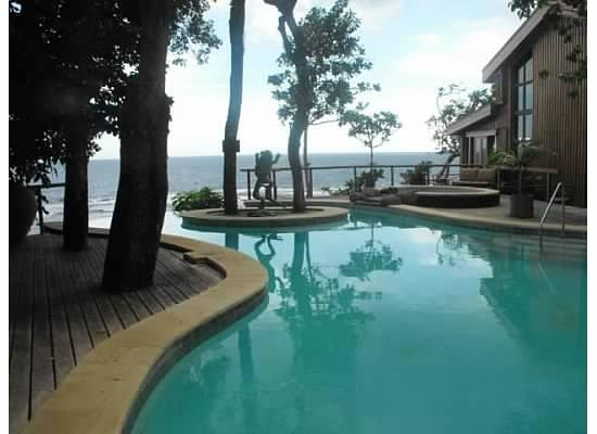 Namale Resort & Spa:                   Pool next to the Totoka (our bure)