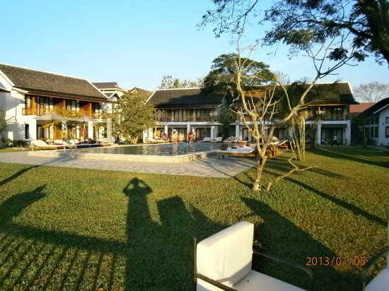Riverside Boutique Resort:                   view of pool area