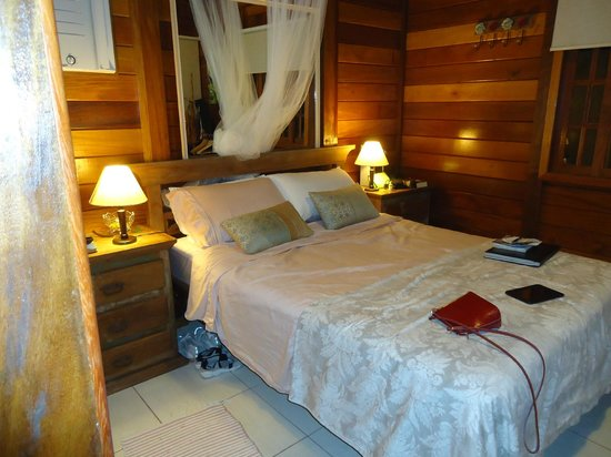 Aratinga Inn:                   Very comfortable bed