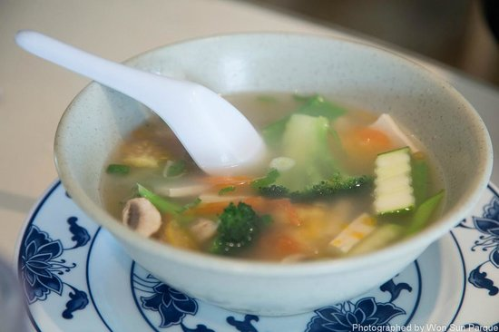 China Delight :                   Vegetable Soup