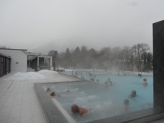 Spa & Familien Resort Rupertus Therme:                   Heated Outdoor pool