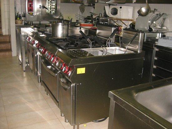 Hotel Corno Alle Scale: cucina