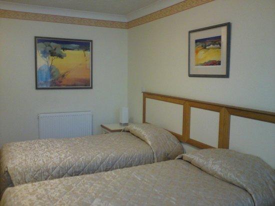 The Garrison Hotel:                                     Bedroom