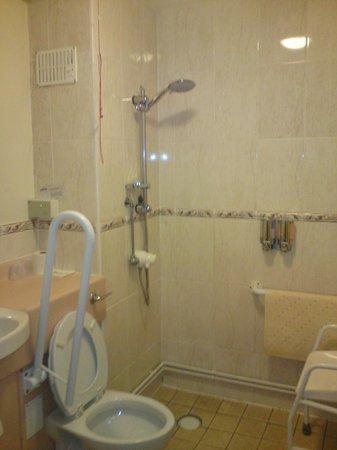 The Garrison Hotel:                                     adapted bathroom