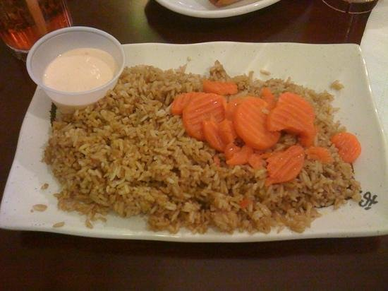 Osaka:                   Fried rice with shrimp sauce and carrots