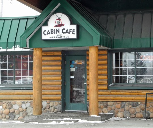 Cabin Cafe and Mercantile, March 2013