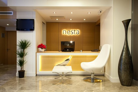 Nesta Boutique Hotel: RECEPTION