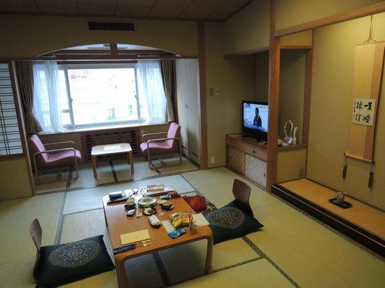 Shogetsu Grand Hotel :                   Bedroom