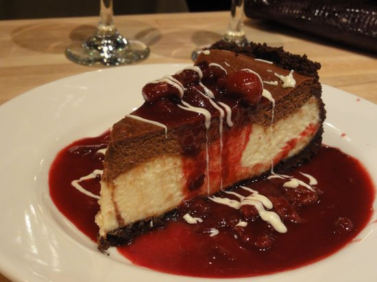 A Chef's Kitchen:                   Triple chocolate cheesecake