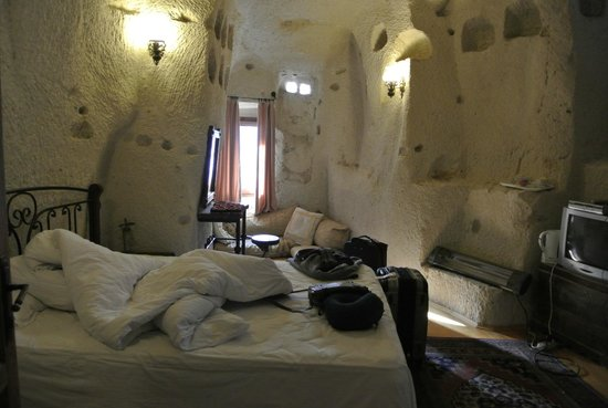 Dervish Cave House:                   Our aswesome cave room