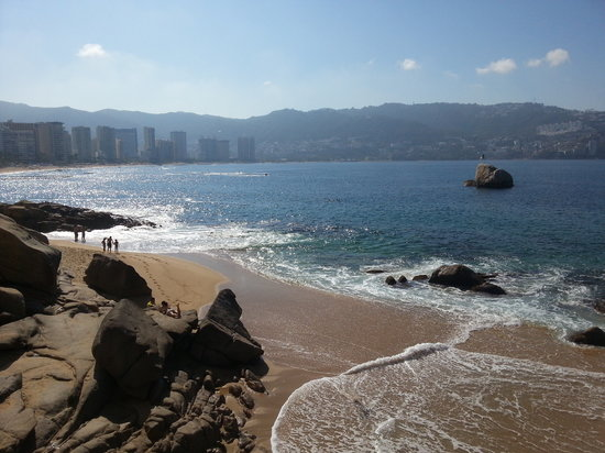 Las Torres Gemelas:                   View of Acapulco Bay