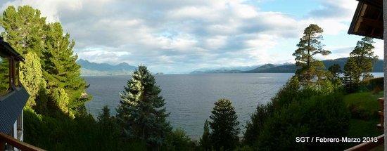 La Sirenuse Lake Resort:                   Panorámica Vista desde la Habitación
