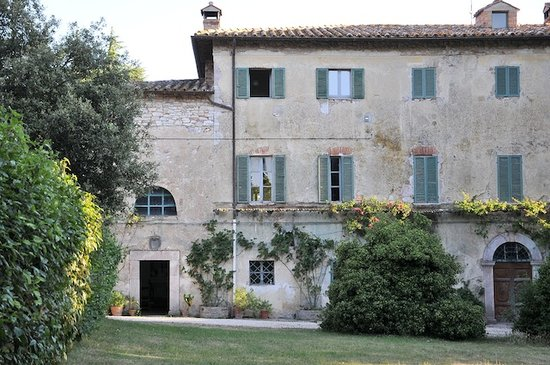 Agriturismo Borgo Spante: la casa padronale