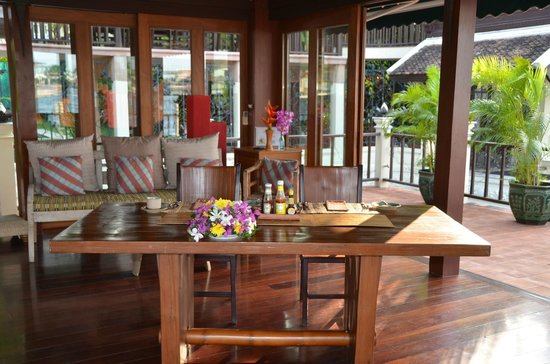 Chakrabongse Villas:                   The Terrace