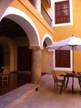 Casa Don Gustavo Hotel Boutique:                   Courtyard