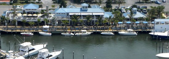 Sunset Grille: view from the water