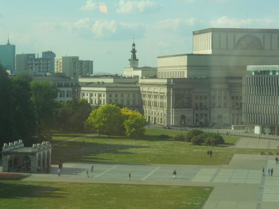 Sofitel Warsaw Victoria:                   View from my room!