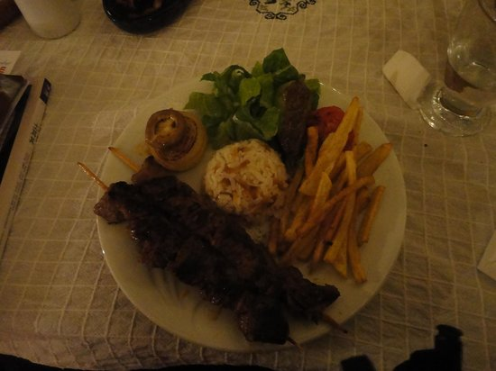 Kirkinca Arsipel Restaurant:                   Best Lamb kebab ever.
