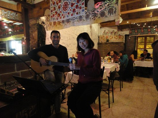 Kirkinca Arsipel Restaurant:                   Great Live Turkish Music!