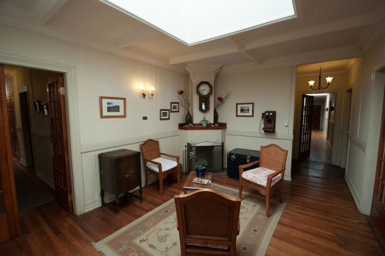 Estancia Cerro Guido:                   Foyer in the Owner's House