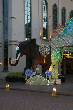 Sunway Resort Hotel & Spa:                   Funky elephant