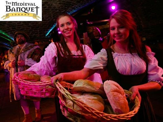Wenches at The Medieval Banquet
