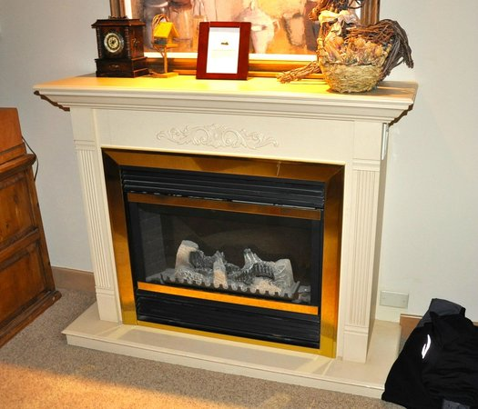 Le Chamois:                                                       Electric Fire - for decoration purposes on