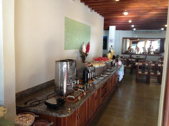 Hotel Torremolinos:                   Cefé da manhã