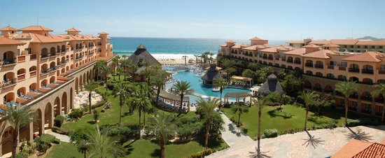 Royal Solaris Los Cabos:                   VIEW FROM THE TOP FLOOR