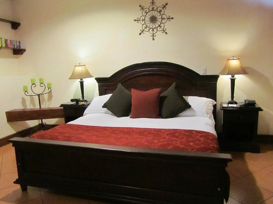 Hotel Plaza Colon :                   King bed room 201