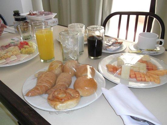 Laguna Mar: Desayuno en la habitación
