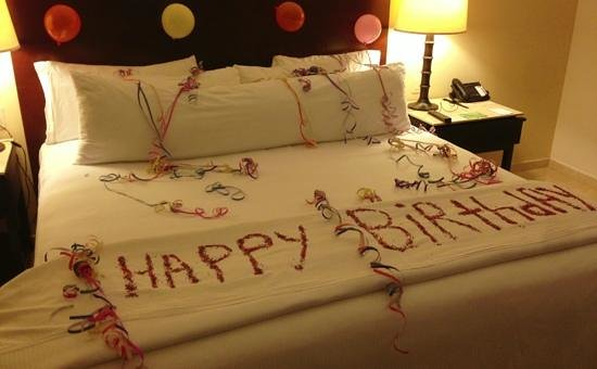 Live Aqua Cancun All Inclusive:                   birthday surprise