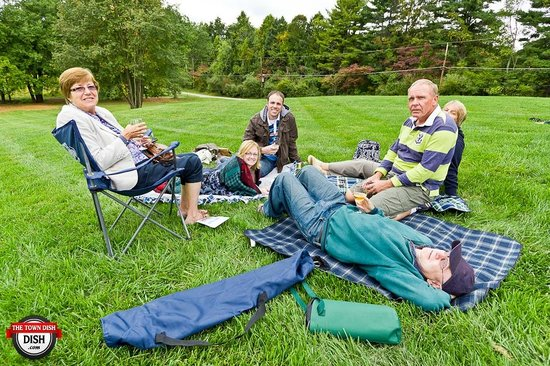 Penns Woods Winery: pack a picnic and grab a glass of wine!