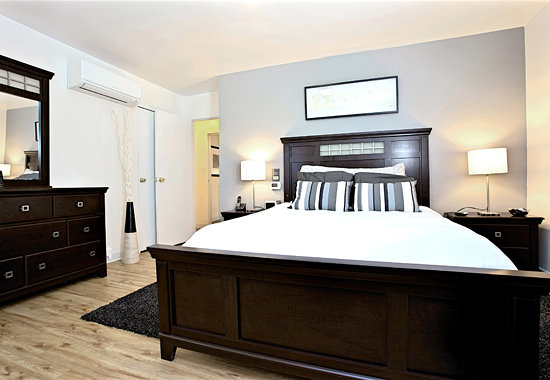 Shadyside Inn All Suites Hotel : The bedroom is only the beginning...