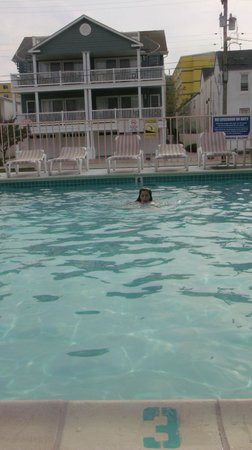 Condor Motel :                                                       the pool
