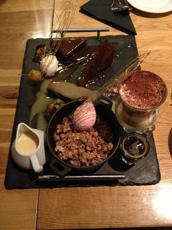 The Griffin at Plumtree:                                     shared desert ..