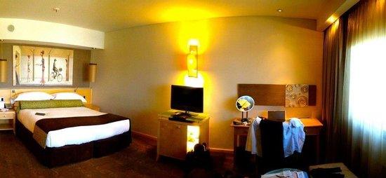 Sandton Sun: Nice rooms