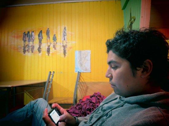 Hostel Ruca :                   disfrutando