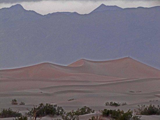 Eureka Dunes :                   Twilight on the dunes