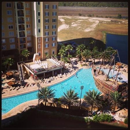 Lake Buena Vista Resort Village & Spa:                   hotel pool! great for kids!