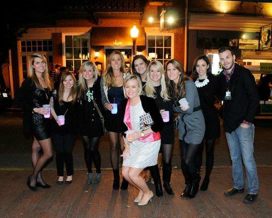 Walk + Shoot Savannah: bachelorette pub crawl