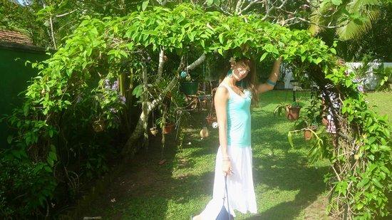 Mihin Villa:                   Kate in the Garden
