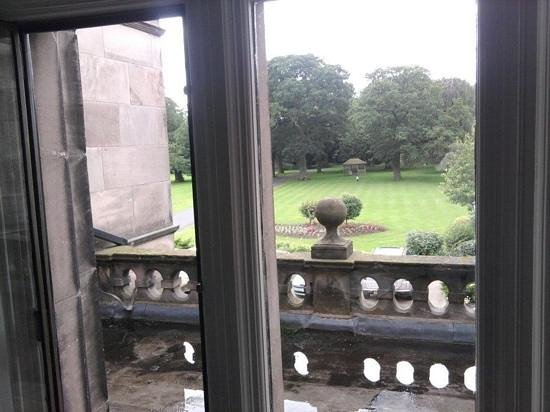 Rookery Hall Hotel & Spa:                   View from our room.