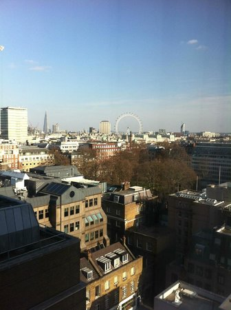The Cavendish London:                   fantastic views over london