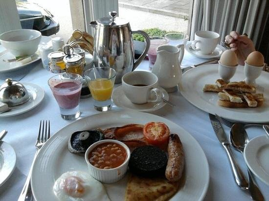 Rookery Hall Hotel & Spa:                   My breakfast.