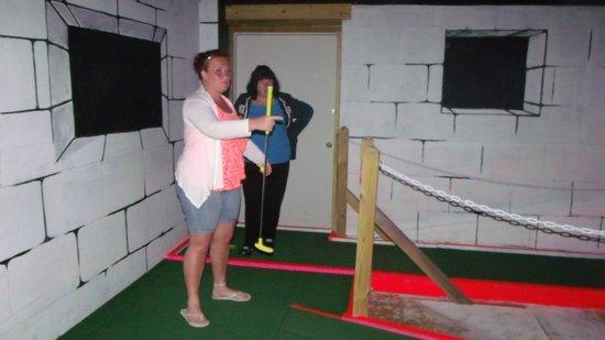Dragons Lair Mini Golf:                   June 2012