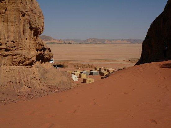 The Caravans Camp:                   Caravans Camp - Wadi Rum